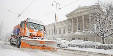 Schnee Winter Wien