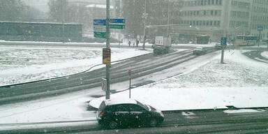Schnee Winter Österreich Wien