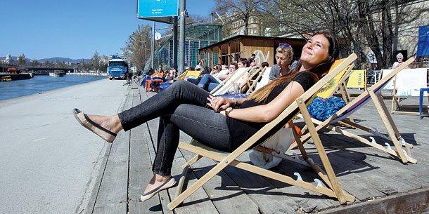 Mini-Frühling: Heute 15 Grad in Wien