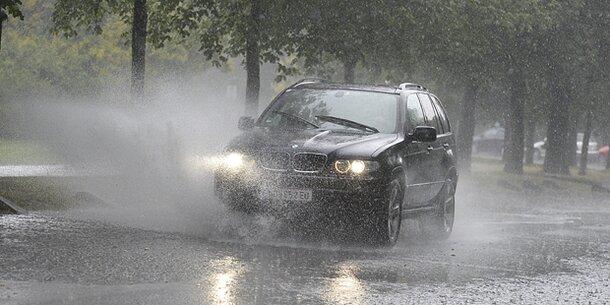 Unwetter-Alarm! Sintflut-Regen über Wien und NÖ
