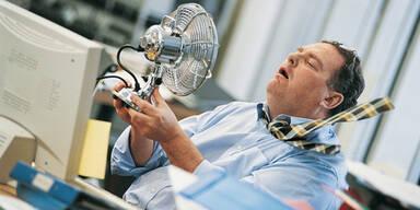 Büro Hitze Sommer