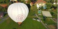 Einzigartiges Ballonerlebnis im Ballonhotel Thaller