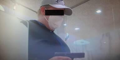 oe24 hat das Foto des Überfalls: Das ist der Bankräuber von Retz