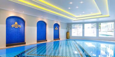 Hotel Bellevue Schwimmbecken