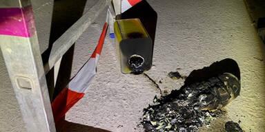 Tschetschenen-Bande zündete FH in St. Pölten an