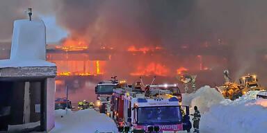 Motorrad-Museum ausgebrannt
