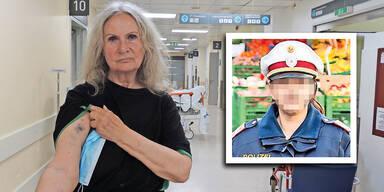 Prügel-Vorwurf gegen ATV-Polizistin