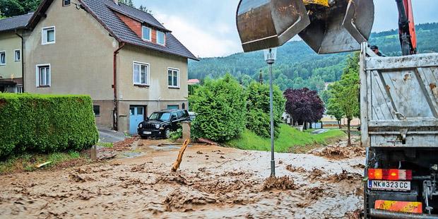 Unwetter Neunkirchen