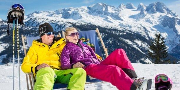 Skiurlaub direkt an der Piste in Dachstein - West