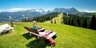 Natur genießen in den Salzburger Dolomiten