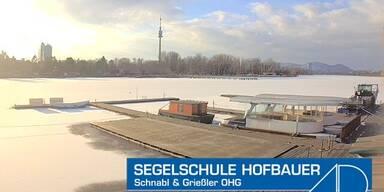 Donaustadt Winter
