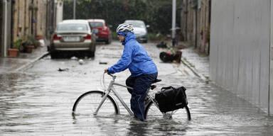 Hochwasser Dublin