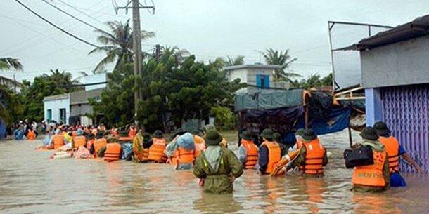 Mindestens 29 Tote bei Überschwemmungen in Vietnam