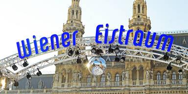 Rathausplatz: Der Wiener Eistraum eröffnet heuer bereits am 24. Dezember