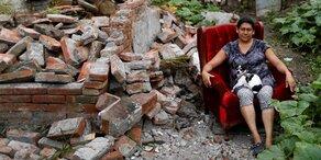 Haustiere leiden nach Erdbeben in Mexiko