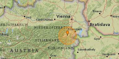 Kräftiges Erdbeben erschüttert Niederösterreich und Wien