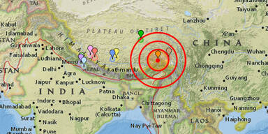 Erdbeben Tibet
