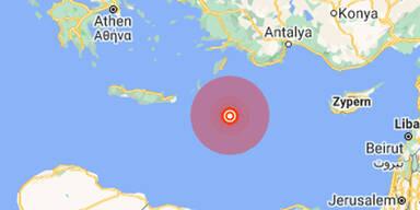 Wieder starkes Beben auf Urlaubs-Insel Kreta