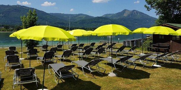 Sommerurlaub am Wolfgangsee