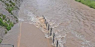 Wien Fluss Überflutungen Wien Lainzer Tiergarten