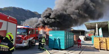 270 Feuerwehrleute waren bei Mega-Brand im Einsatz