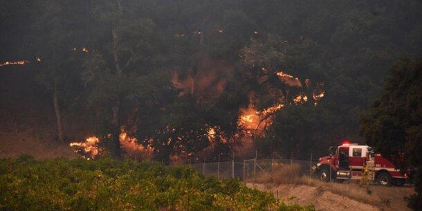 23 Tote bei Feuer-Inferno in Kalifornien