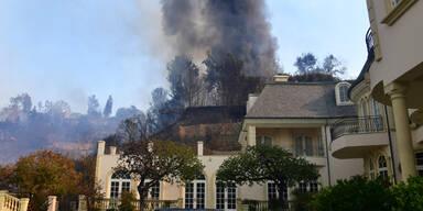 Feuer Los Angeles Kalifornien