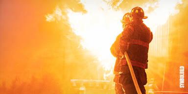 Feuer-Schock in Salzburg: Vier Arbeiter in brennendem Tunnel gefangen