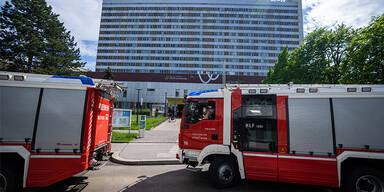 Brand-Alarm: Feuerwehreinsatz in Wiener Rudolfstiftung