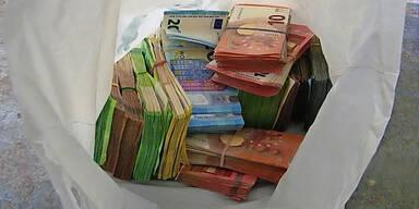 Bankräuber hatte 116.130€ Beute im Auto