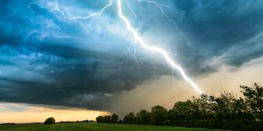 Hagel und Sturm: Unwetter-Warnung für weite Teile Österreichs