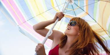 Sonnenschirm Sonnenschutz Sommer Sonne Sonnenbrille
