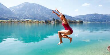 Sommer See Urlaub Baden