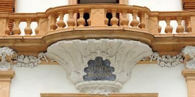 Schloss Eggenberg Balkon