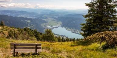 Ossiacher See Aussicht
