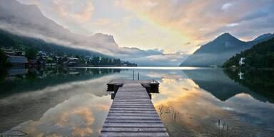 See in den österreichischen Alpen