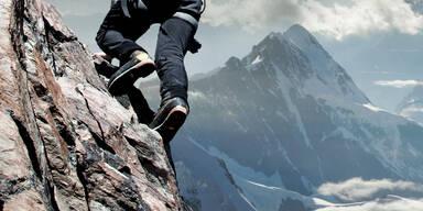 Deutscher Wanderer zehn Meter abgestürzt