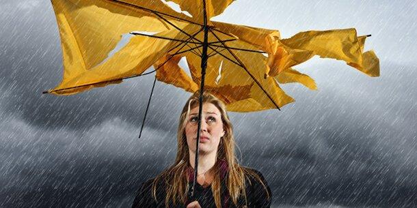 Abkühlung und heftige Unwetter am Wochenende