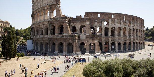 Hitzetoter in Rom: Österreicher bricht vor Kolloseum zusammen