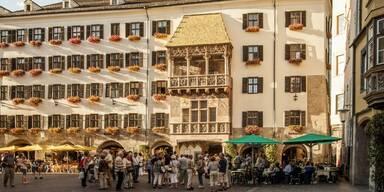 Goldenes Dachl Tourismus
