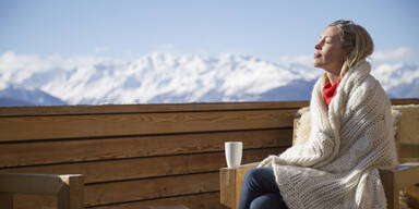 Wintersonne Winter Einkehr