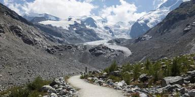 Morteratsch Gletscher Graubünden Schweiz