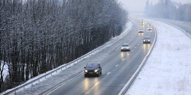 Schnee & Glatteis-Gefahr in Teilen Österreichs
