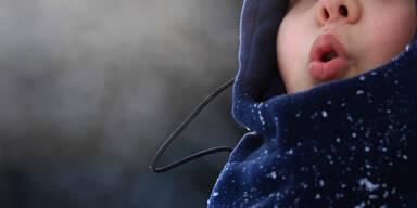 Bub kalt erfrieren