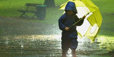 Regen Regenschirm Regenwetter Sauwetter