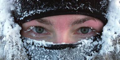 Kälte Winter frieren