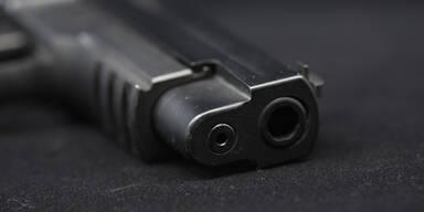 Waffe Polizeiwaffe Pistole