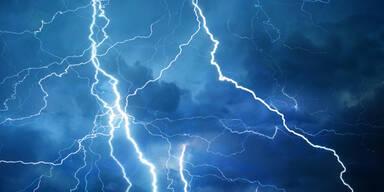 Unwetter-Alarm: Hier gewittert es jetzt schon