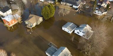 Hochwasser Kanada
