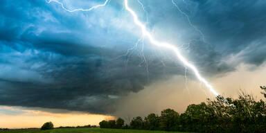 Gewitter-Alarm: Hier kann es heute krachen